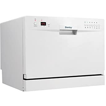 Image result for DDW611WLED Countertop Dishwasher-White