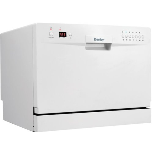 Danby DDW611WLED Countertop Dishwasher White