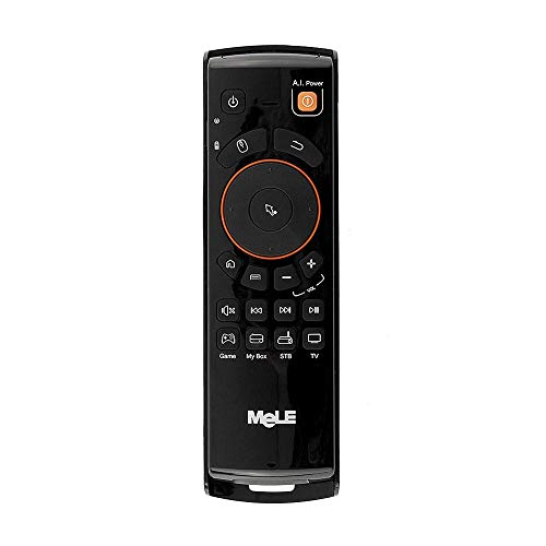 Calvas Free DHL 20 pcs MeLe F10 Deluxe 2.4GHz Wireless Gaming Remote Keyboards Controller Air Mouse For Smart Android Tv Boxs Mini Pc