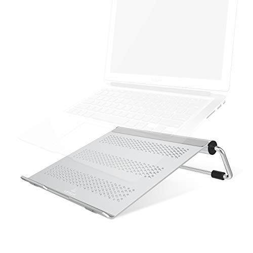 Adjustable Laptop Stand - Lamicall Laptop Riser: Ventilated Laptop Holder Compatible with Laptops Such as MacBook Air Pro - Dell XPS - HP - Microsoft - Lenovo and More Laptops up to 17