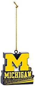 University of Michigan, Mascot Statue Ornament Officially Licensed Decorative Ornament for Sports Fans