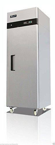 C-1F 23 Cu.ft Stainless Steel Reach In Freezer Single Solid Door