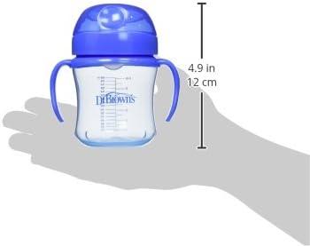 Browns Soft-Spout Taza para ni/ños 170 g azul Dr