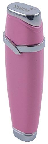 Scorch Torch Plumeria Single Standard Flame Butane Cigarette Lighter (Pink) (Single Torch)