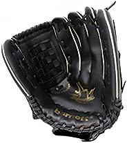 """JL-125 reg Vinyl Baseball Glove, Outfield, Size 12,5"""", REG for Left-handers,"""