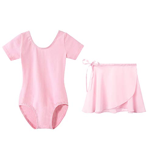 Used, STELLE Girls Ballet Leotard with Separated Skirt, Short for sale  Delivered anywhere in USA