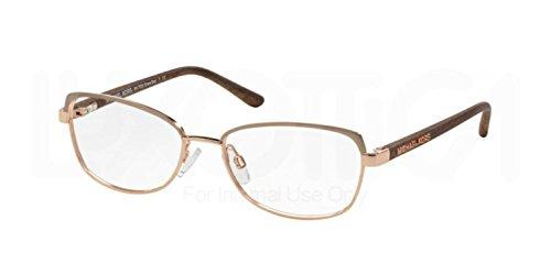 MICHAEL KORS Eyeglasses MK 7005 1049 Chocolate/ Gold - Glasses Prices Kors Michael