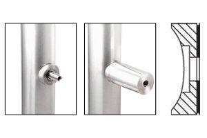 C.R. LAURENCE LPC114SC CRL Satin Chrome Low Profile Standoff Cap Assembly for 1-1/4