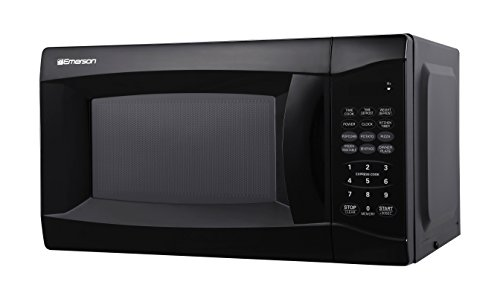 Emerson 0.7 CU. FT. 700 Watt, Touch Control, Black Microwave Oven, MW7302B by Emerson Radio