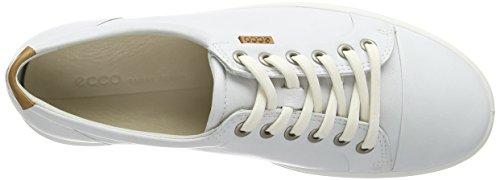 Scarpe Basse 7 Donna Ginnastica Ladies da White01007 ECCO Soft Bianco Zx7wq1nv