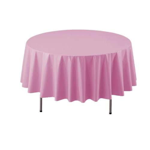 - Party Essentials ValuMost Round Plastic Table Cover Available in 16 Colors, 84