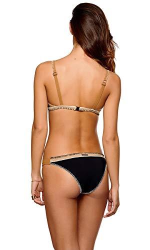 bikini taglia Pezzo Banana Moon Nero Nero donna sotto unica wCaH7qx
