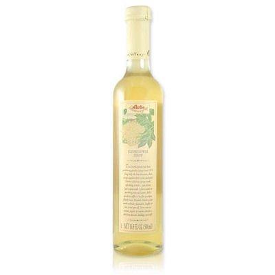 White Elderflower Fruit Syrup - 17.6oz (Pack of 3) by d'arbo