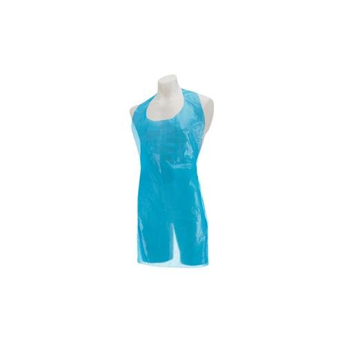 Premier 2932 Flat Packed Disposable Aprons Blue