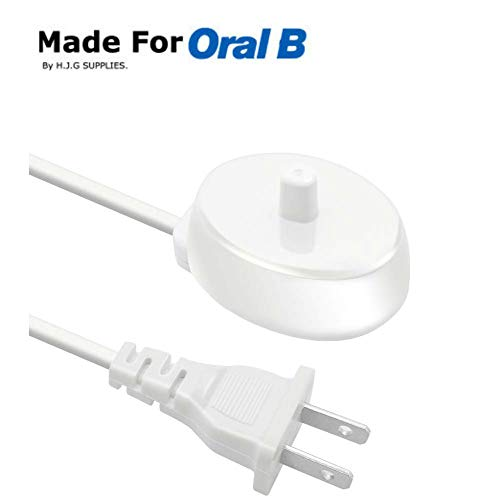 H.J.G SUPPLIES Electric Toothbrush Replacement Charger Base Compatible with Model 3757 For Braun Oral-b Portable for travel ()