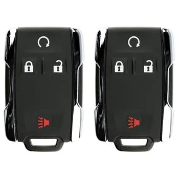 M3N32337100-2 PACK For 07-18 Chevy Cadillac Buick GMC Pontiac Saturn Keyless Entry Remote Key Fob 3btn OUC60270 M3N5WY8109 OUC60221