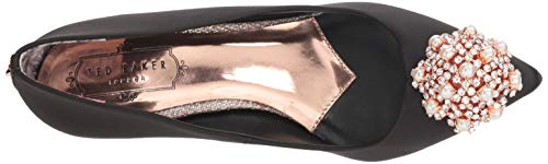Women's Pump Satin Black Baker Dahrlin Ted 4T57wn