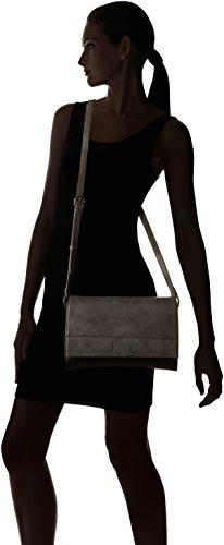 Le Temps des Cerises Kaori, Borsa a tracolla donna nero Noir (Noir / Gris) Taille Unique