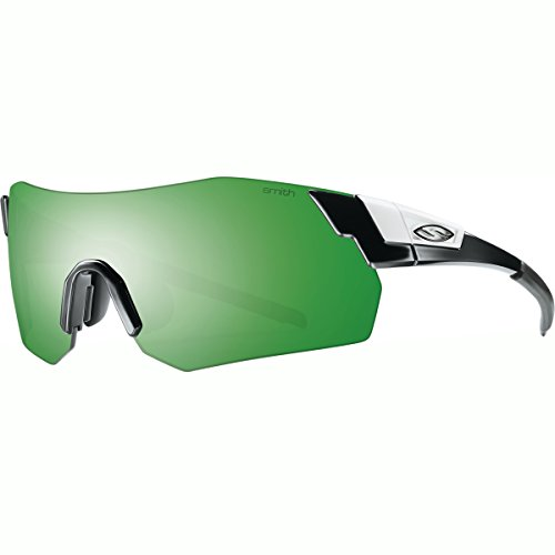 Smith Optics Pivlock Arena Max Sunglass: Black/Green Sol-X, Ignitor, Clear Carbonic TLT - Team Optics Smith