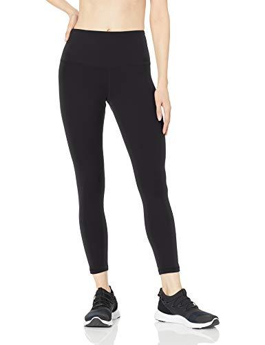 Amazon Essentials Women's Studio Sculpt High-Rise 7/8 Length Legging, Black, Small