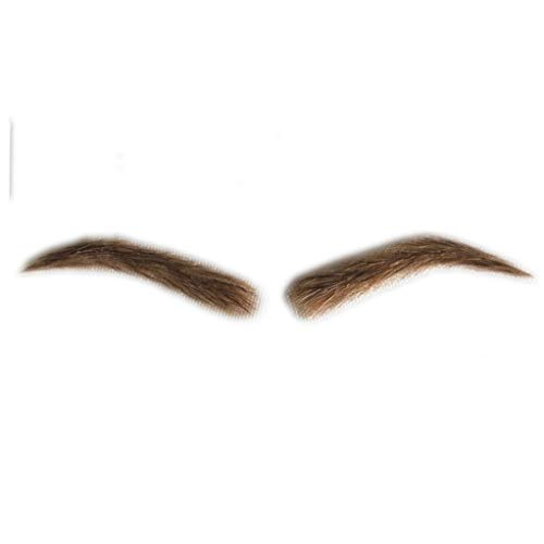 Fake Lace Eyebrows for Men Human Hair Blonde Artifical Eyebrows (A20)
