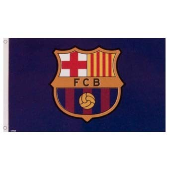 Club Barcelona Football - FC Barcelona Flag Club Crest (CC)