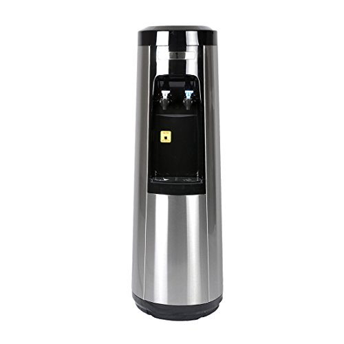 Magic Mountain's POU Water Pyramid Series, Stainless Steel Room-Temp and Cold Bottleless Water Dispenser by Magic Mountain's Water Pyramid Series (POU)