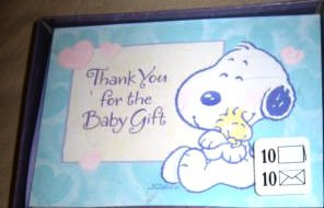 Hallmark Baby Snoopy Thank You - Thank Snoopy You