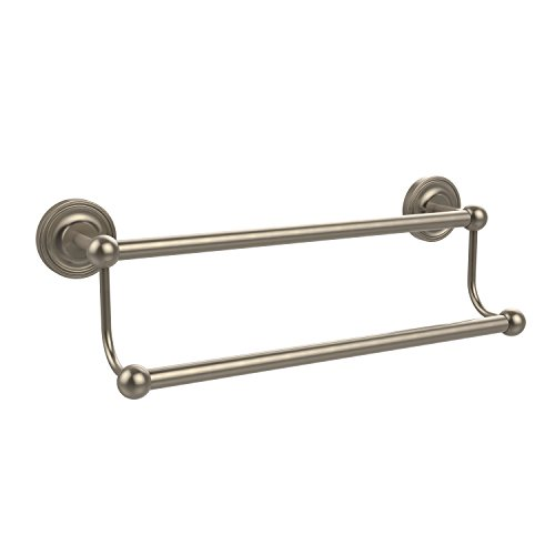 (Allied Brass PR-72/18-PEW Prestige Regal Collection 18 Inch Double Towel Bar Antique Pewter)