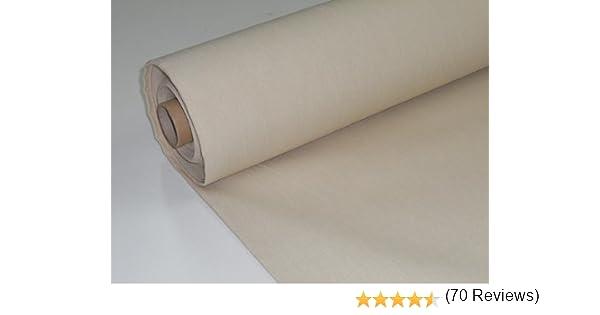 Confección Saymi Metraje 3,45 MTS. Tejido Lona acrílica, Color Crudo, con Ancho 3,20 MTS.: Amazon.es: Hogar