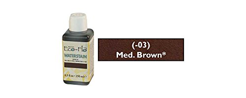 - Tandy Leather Eco-Flo Waterstain Medium Brown 8.5 oz. (250ml) 2800-03