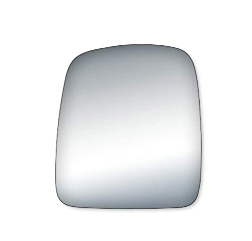 K Source Fits 03-07 Chevy Express GMC Savana Van Left Driver Mirror Glass Lens w/Adhesive