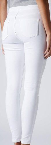 waisted high denim Black White waisted disco Lulu skinny PU skinny jeans pants acid ripped jeans wash Skinny White Apparel high jeans jeans Lily Jeans leather xqHnSaUva