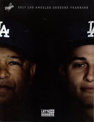2017 LOS ANGELES DODGERS YEARBOOK PROGRAM WORLD SERIES CHAMPS ROBINSON L.A. DODGERS