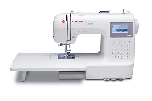 SINGER | Professional 9100 Computerized Sewing with 404 Built-in Stitches, has 2 Built-in Alphabets perfect for personalizing projects, and comes with an Extension Table great for larger sewing projects ()