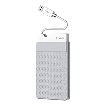ineo Carcasa USB 3.0 caja Discos Duros 2,5