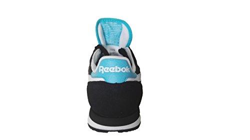 Reebok Classic Sport V62566 Black/Neon Blue (EU 40) …