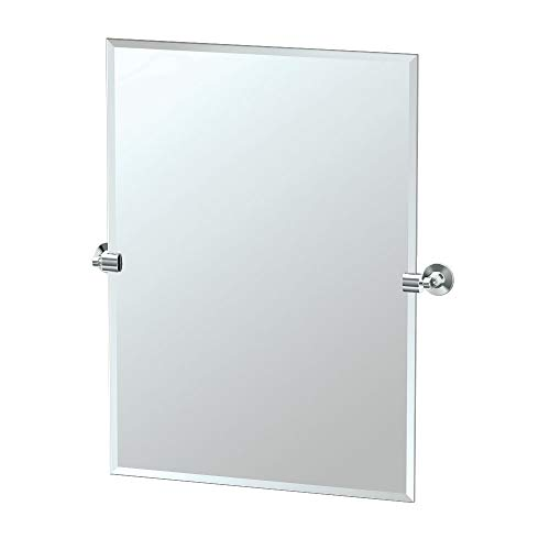 Gatco 4849S Max Tilting Wall Mirror, Chrome