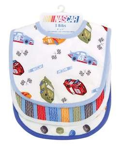 Trend Lab 3 Pack Bib - Nascar - Bib Nascar Baby