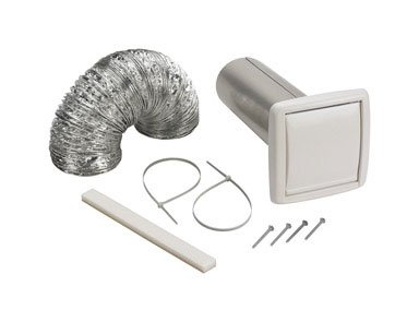 NuTone WVK2A Flexible Wall Ducting Kit for Ventilation Fans, 4-Inch