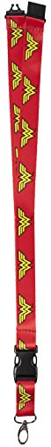 DC+Comics Products : DC Comics Wonder Woman Reversible Breakaway Keychain Lanyard