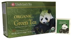 Uncle Lee's Organic Green Tea - foods eat reduce inflammation