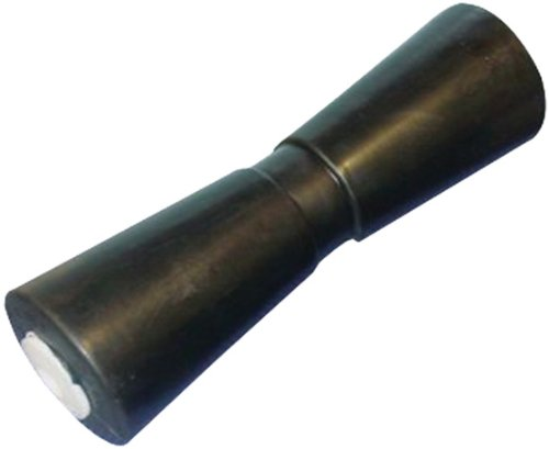 C.H. Yates Rubber 12000 12'' Heavy Duty Marine Keel Roller with 5/8'' Shaft hole