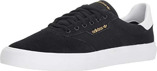 (adidas Skateboarding Men's 3MC Black/White/Black Suede 11 D US)
