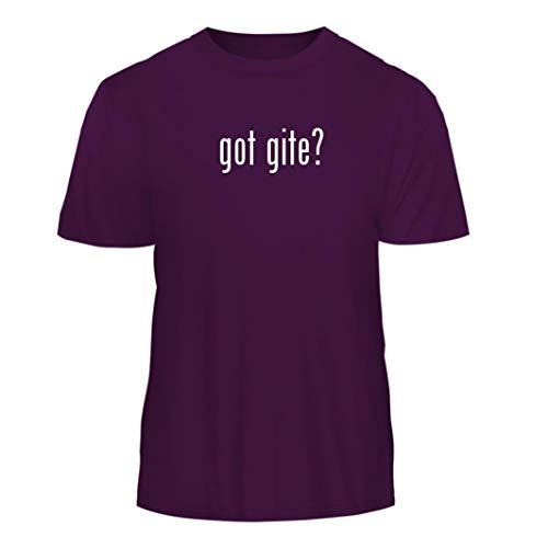 got Gite? - Nice Men's Short Sleeve T-Shirt, Purple, Large (De France Gites)