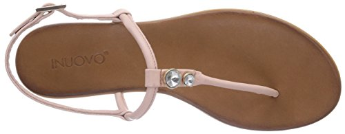 Damen Sandalen Leather OCEAN Inuovo Blush Pink y5BfqY60aw
