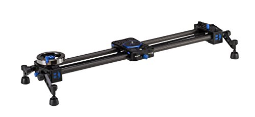 Benro MoveOver12 Dual Carbon Rail Slider w/ Flywheel - 600mm (C12D6)