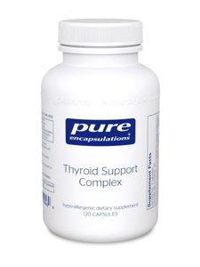 Pur complexes Encapsulations Soutien de la thyroïde (120 caps) THY34