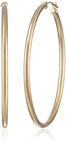 10k Gold Classic Hoop Earrings - 6
