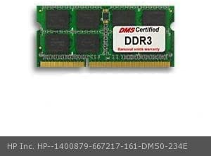 DMS DMS Data Memory Systems Replacement for HP Inc 667217-161 Pavilion dv6-3216us 8GB eRAM Memory 204 Pin DDR3-1600 PC3-12800 1024x64 CL11 1.5V SODIMM